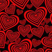 Naadloze valentine patroon — Stockvector