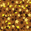 Seamless star pattern — Stock Vector