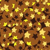 Dikişsiz yıldız desen — Stok Vektör