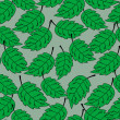 Seamless foliage pattern — Stock Vector