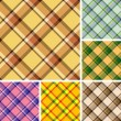 seamless pattern plaid — Vettoriale Stock  #2456944