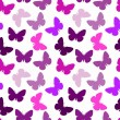 Royalty-Free Stock Vector Image: Seamless butterfly pattern
