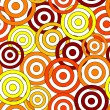 Seamless circle pattern - Stockvectorbeeld