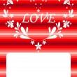 Royalty-Free Stock Vector Image: Valentine card