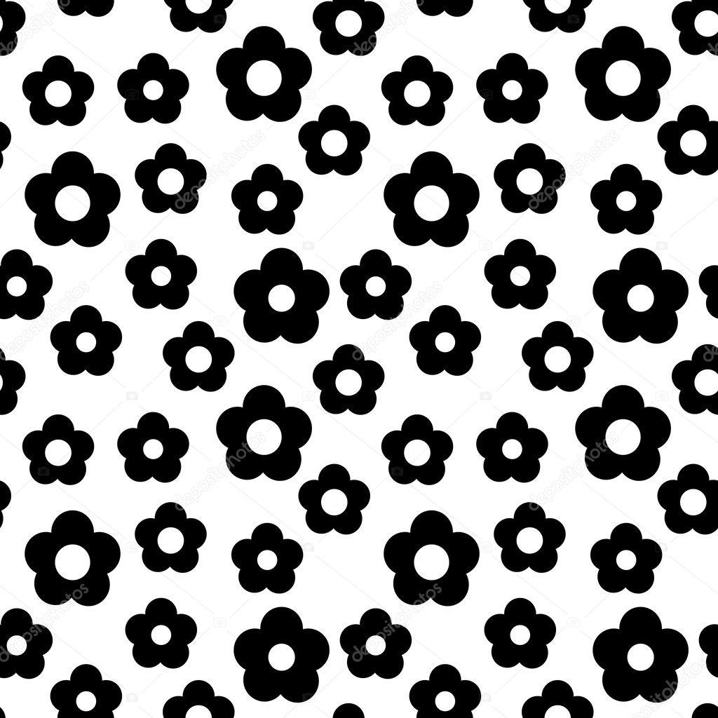 seamless flower pattern stock vector ihor seamless 2548679. Black Bedroom Furniture Sets. Home Design Ideas
