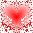 valentine heart — Stock Vector