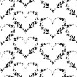 Stock Vector: Seamless heart pattern