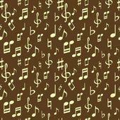 Seamless music pattern — Stock Vector