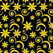 Royalty-Free Stock ベクターイメージ: Seamless flower pattern