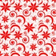 Seamless flower pattern — Vector de stock #2627003