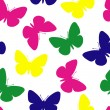 Seamless butterfly pattern — Stock Vector #2640305