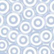 Seamless circle pattern — Stockvektor