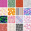 Seamless patterns — Stock Vector #2643949