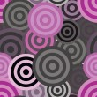 Seamless circle pattern - Imagens vectoriais em stock