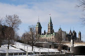 Parliament Hill Ottawa — Stock Photo
