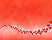 Happy valentine day abstract background — Stock Photo