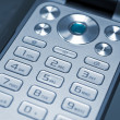 Keypad of a cell phone — Stock Photo