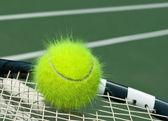 黄色いテニスボール — ストック写真