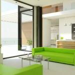 Light interior design — Stock Photo