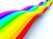 Rainbow path — Stock Photo