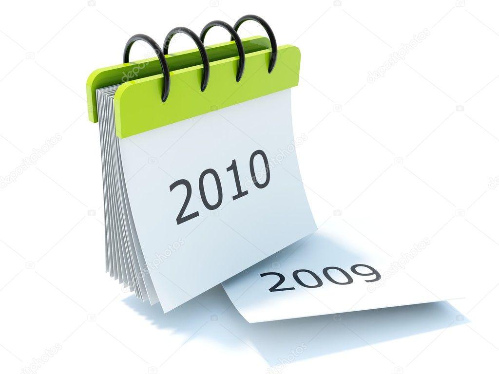 free calendar icon vector. 2010 calendar icon