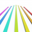 Colored arrows — Stock Photo #2073989