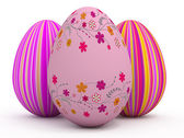 3d colorful egg — Stock Photo