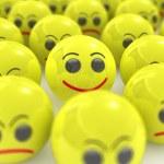 3d individual smile — Stock Photo