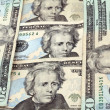 Andrew Jackson twenty dollar bills — Stock Photo #2145403