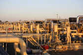 Gas compressor stations — Stock Photo