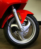 Front wheel — Stock Photo