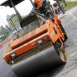 Stock Photo: Steamroller