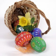 The Easter composition — Stock Photo