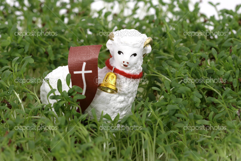 The Easter lamb  Stock Photo #2052901