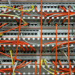 Patch panel — Stock Photo