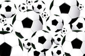 Footballs — Stock Photo