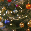 Stock Photo: Blurry christmas tree