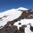 Stock Photo: Peak Elbrus highest in Russiand Europe