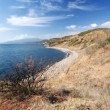 Black Sea coast in autumn, Crimea — Stock Photo