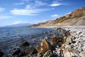 Black Sea coast in Crimea — Stock Photo