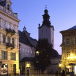 Stock Photo: Night Lviv1