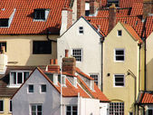 Whitby houses — Stock Photo
