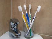 Dental hygiene — Stockfoto