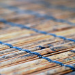 Bamboo table runner - Stock Photo