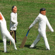 Cricket players — Stockfoto #2429775
