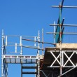 Scaffolding tower — Stockfoto