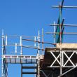 Scaffolding tower — Stock Photo