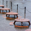 Floods in York — Stock Photo