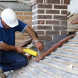 Trainee roofer — Stock Photo #2466704