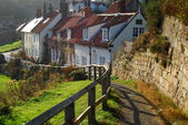 Sandsend Cottages — Stock Photo